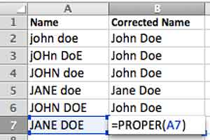 excel proper function example