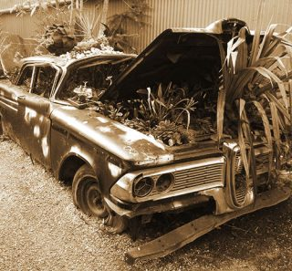 old_car_sepia
