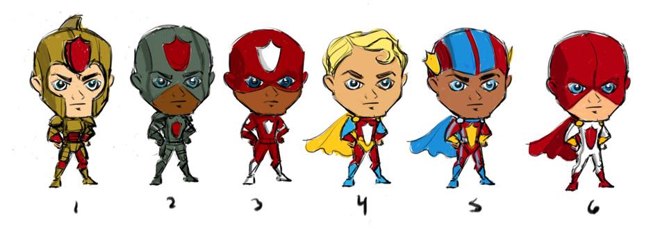 zynga superheros