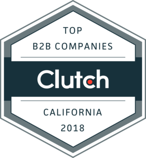 Clutch Top B2B Companies Badge